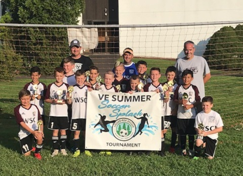 The Fury U11 Boys Finished 1st Place in the Top Tier Bracket at the VE Summer Splash Tournament.  Congratulations!