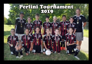 Congratulations to the U12 Galaxy.  The Boys Won the Top Flight at Perlini!